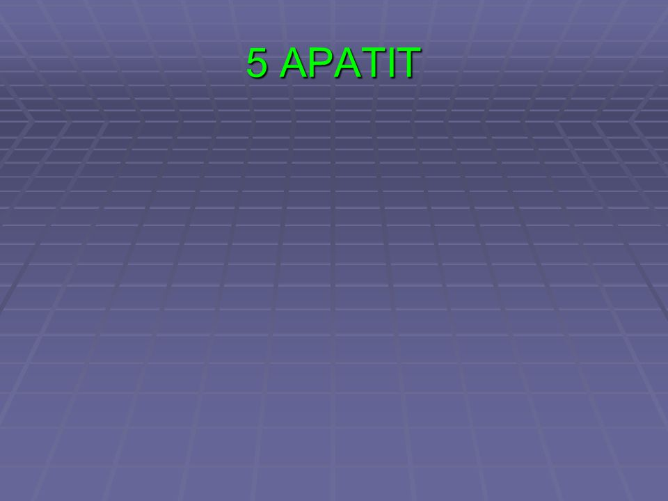 5 APATIT