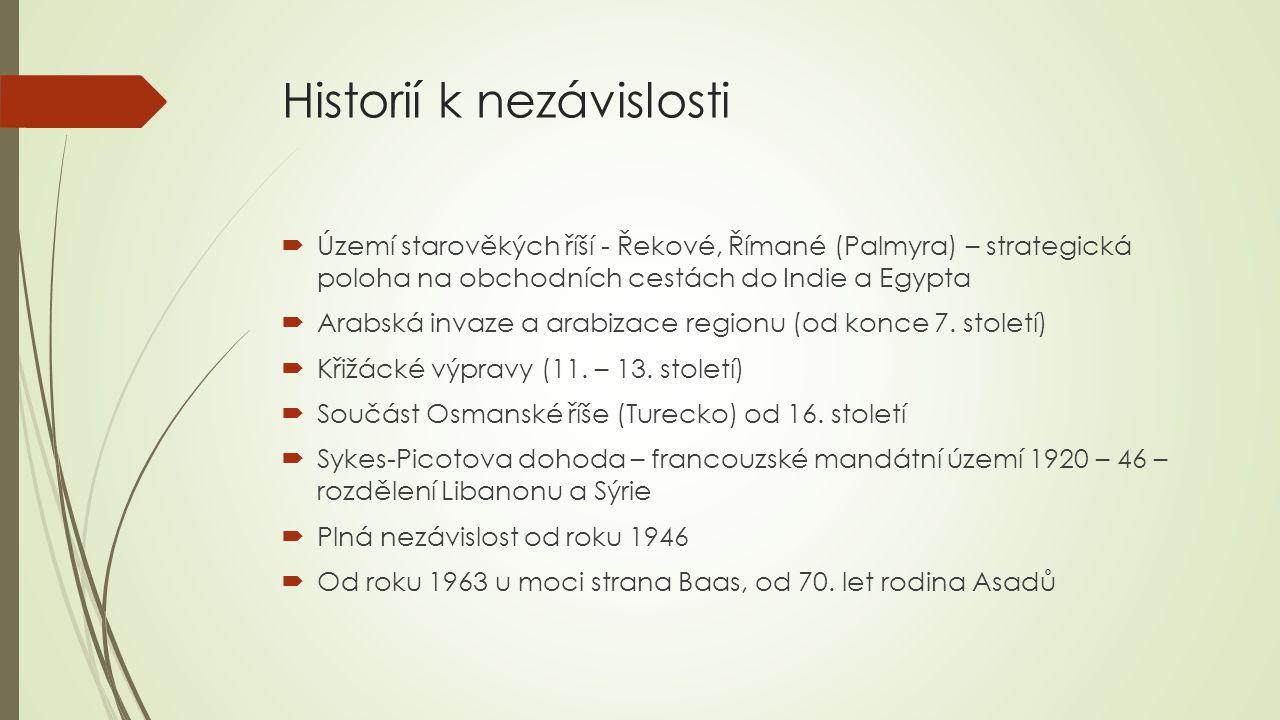 Historií k nezávislosti