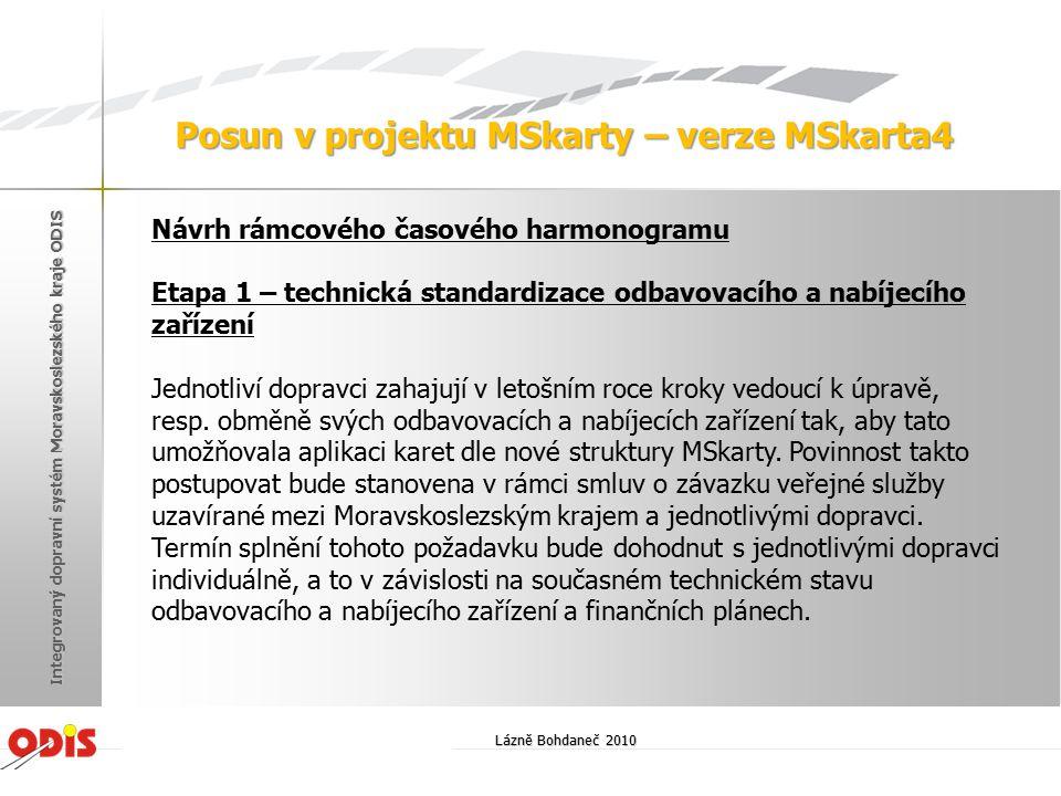Posun v projektu MSkarty – verze MSkarta4