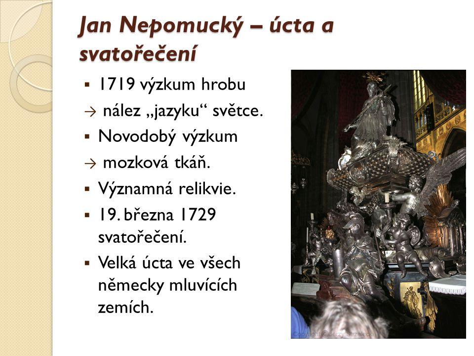 Jan Nepomucký – úcta a svatořečení