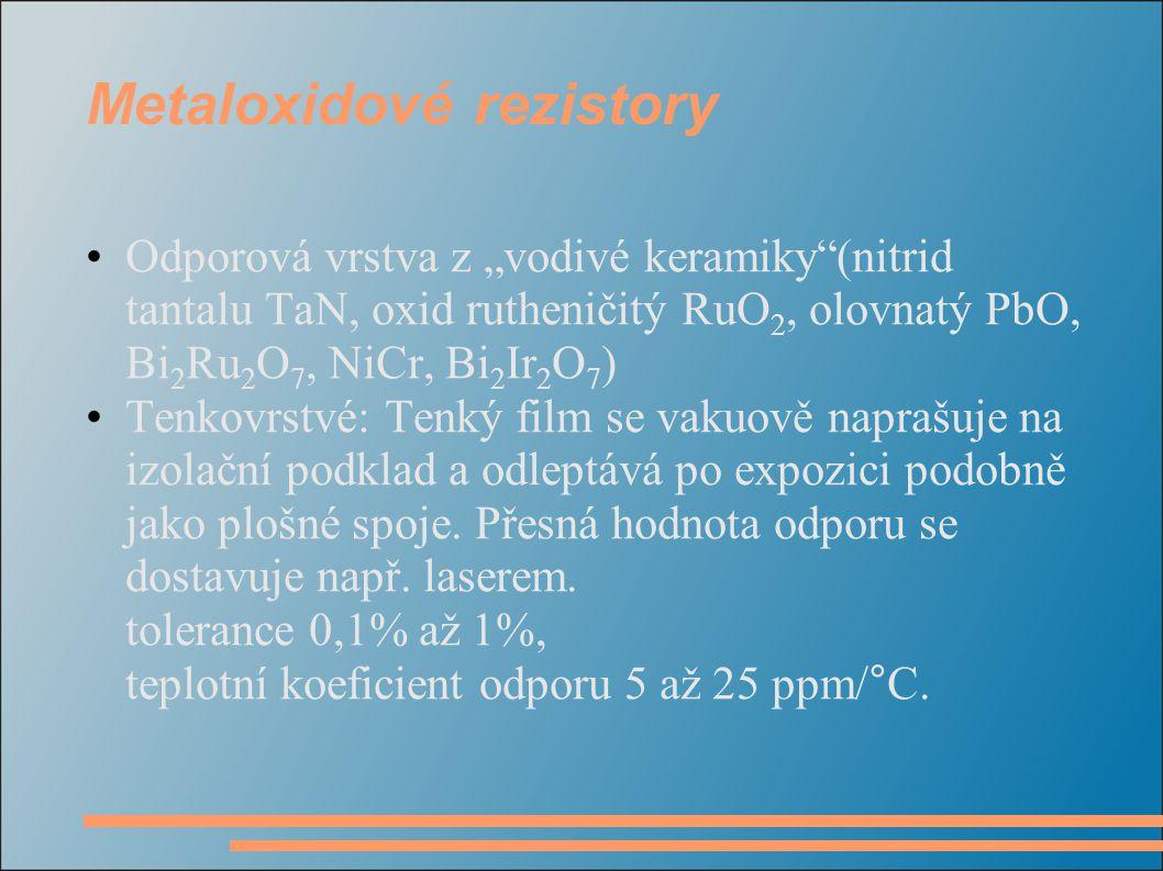 Metaloxidové rezistory
