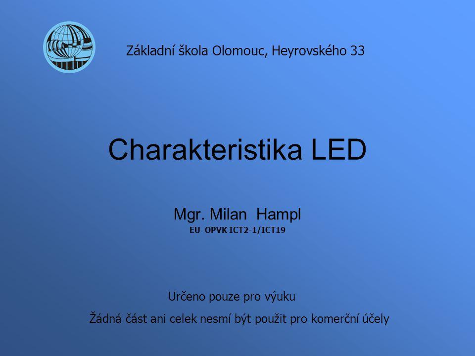 Mgr. Milan Hampl EU OPVK ICT2-1/ICT19