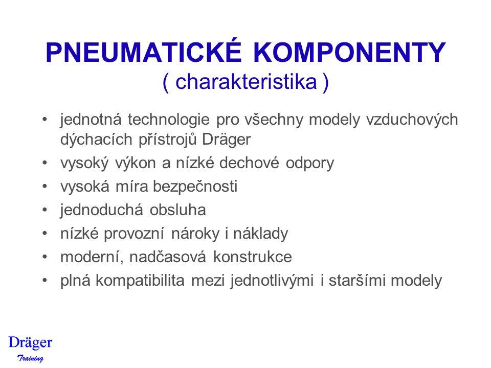 PNEUMATICKÉ KOMPONENTY ( charakteristika )