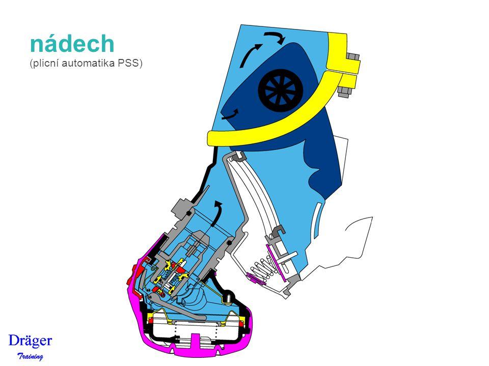 nádech (plicní automatika PSS)