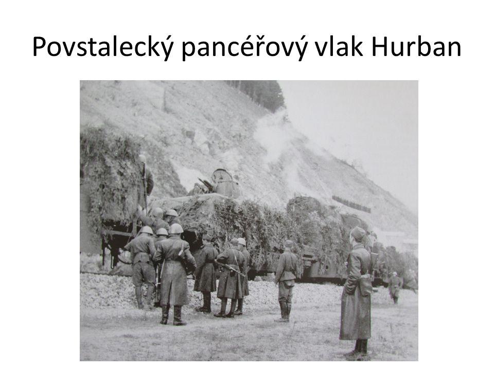Povstalecký pancéřový vlak Hurban