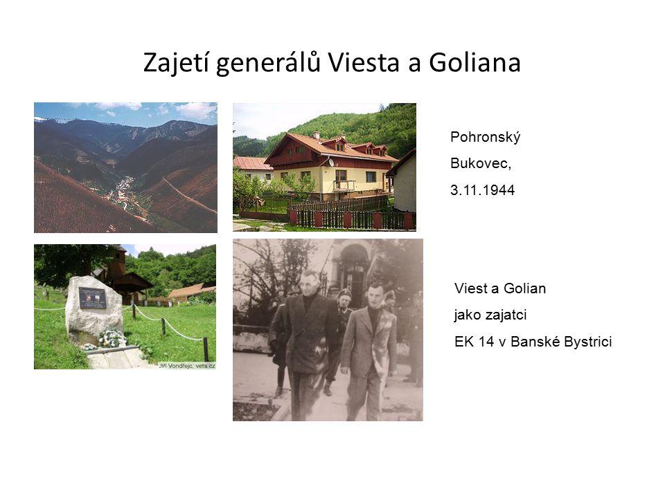 Zajetí generálů Viesta a Goliana