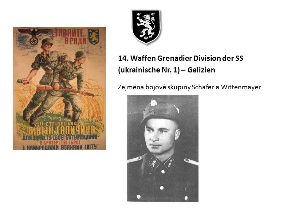 14. Waffen Grenadier Division der SS (ukrainische Nr. 1) – Galizien