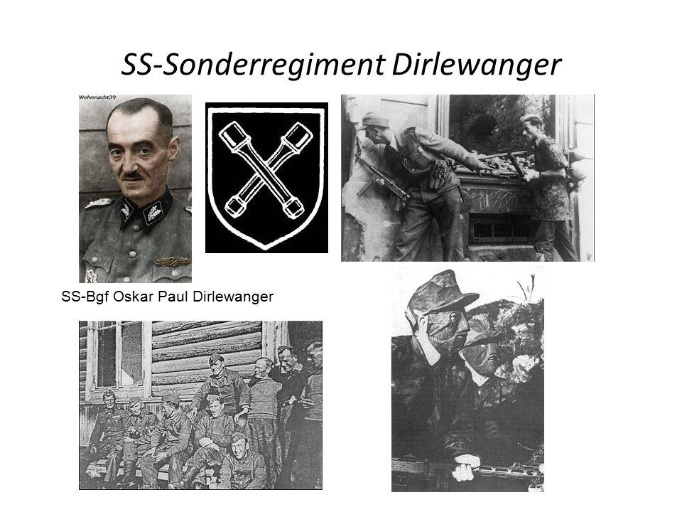 SS-Sonderregiment Dirlewanger