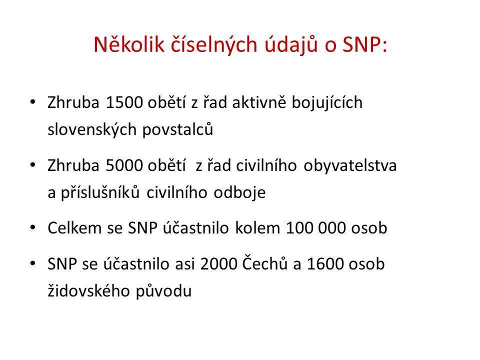 Několik číselných údajů o SNP: