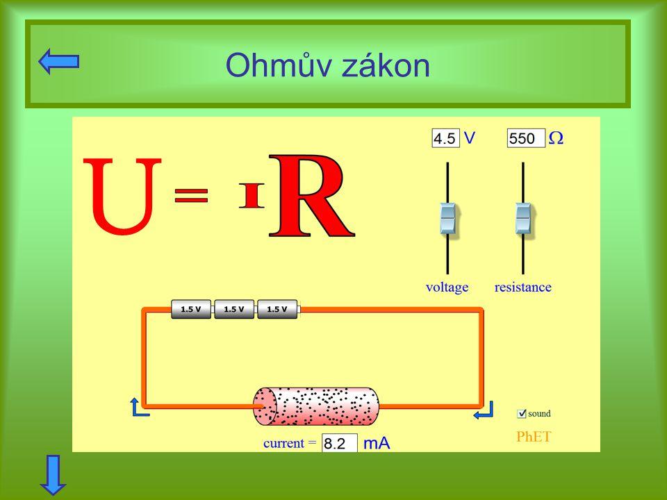Ohmův zákon U.