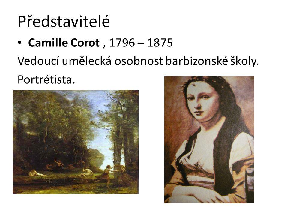 Představitelé Camille Corot , 1796 – 1875