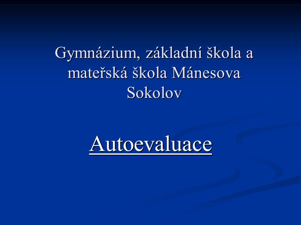 Gymnázium, základní škola a mateřská škola Mánesova Sokolov