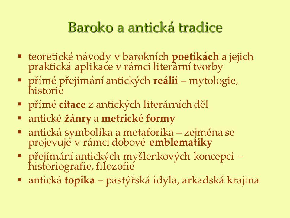 Baroko a antická tradice