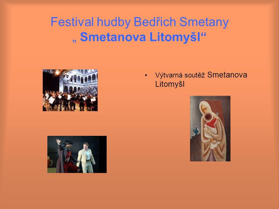 """Festival hudby Bedřich Smetany """" Smetanova Litomyšl"""