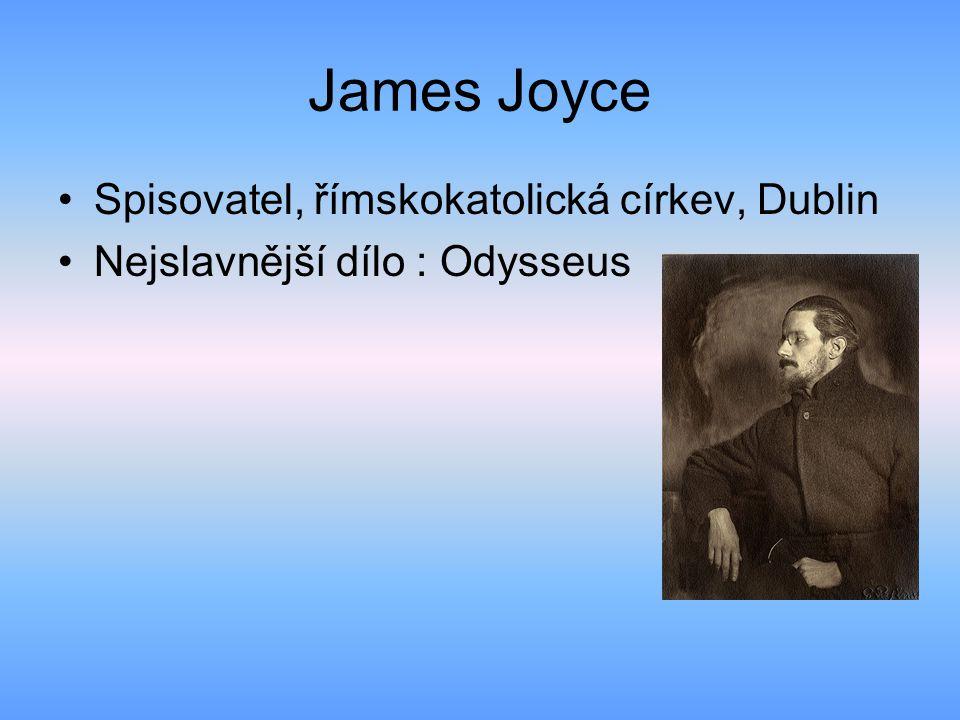 James Joyce Spisovatel, římskokatolická církev, Dublin