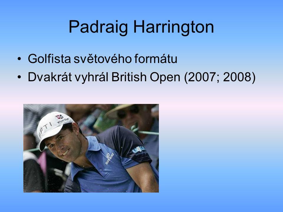 Padraig Harrington Golfista světového formátu