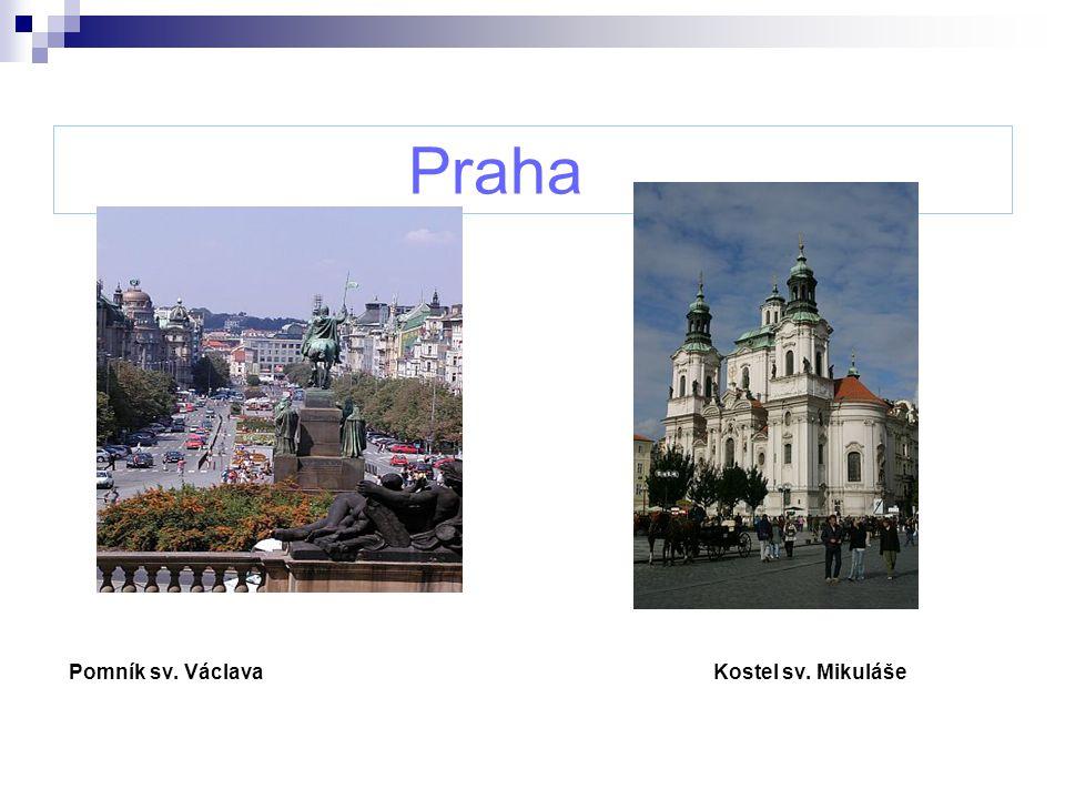 Praha Pomník sv.