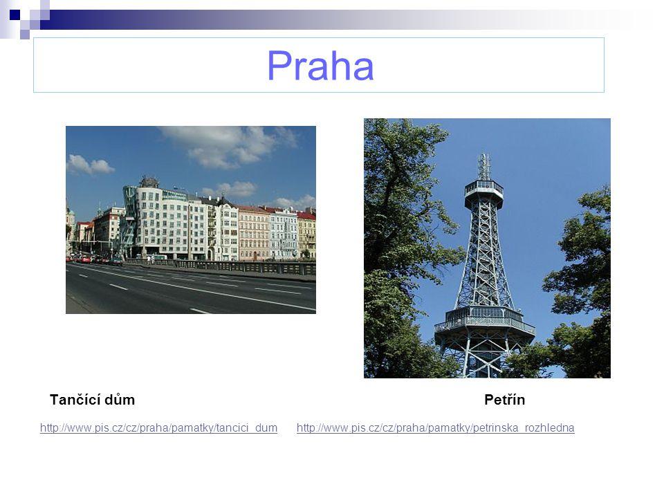 Praha Tančící dům Petřín