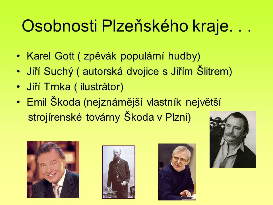Osobnosti Plzeňského kraje. . .