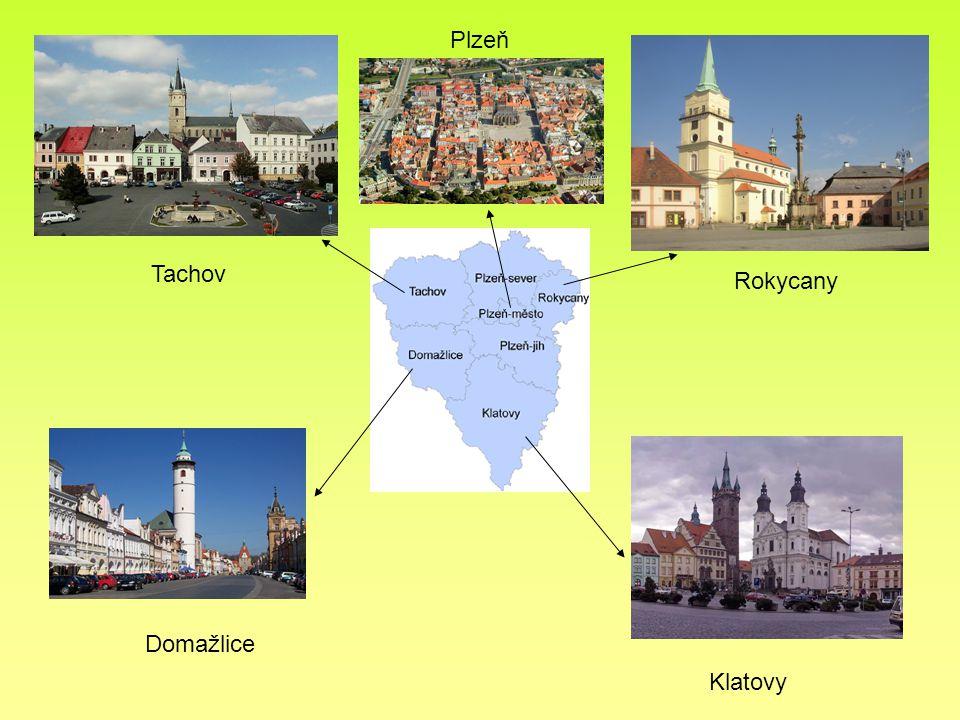 Plzeň Tachov Rokycany Domažlice Klatovy