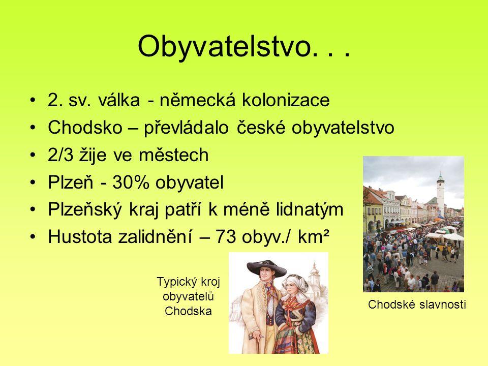 Typický kroj obyvatelů Chodska