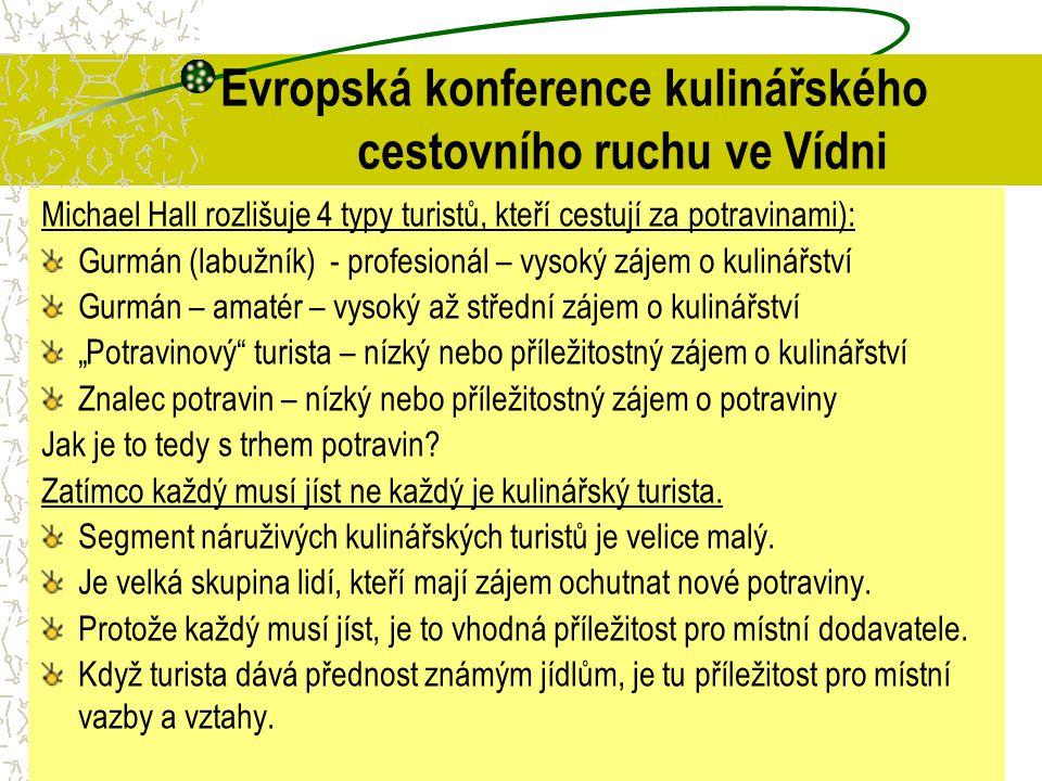 Evropská konference kulinářského cestovního ruchu ve Vídni
