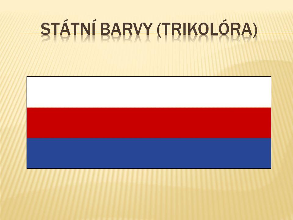 Státní barvy (trikolóra)