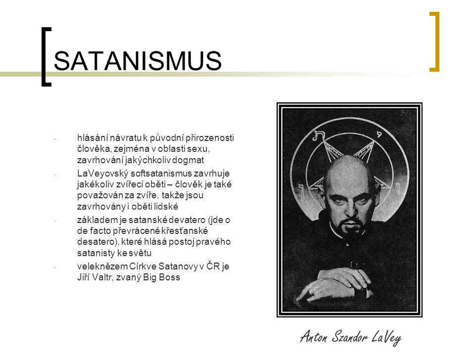 SATANISMUS Anton Szandor LaVey