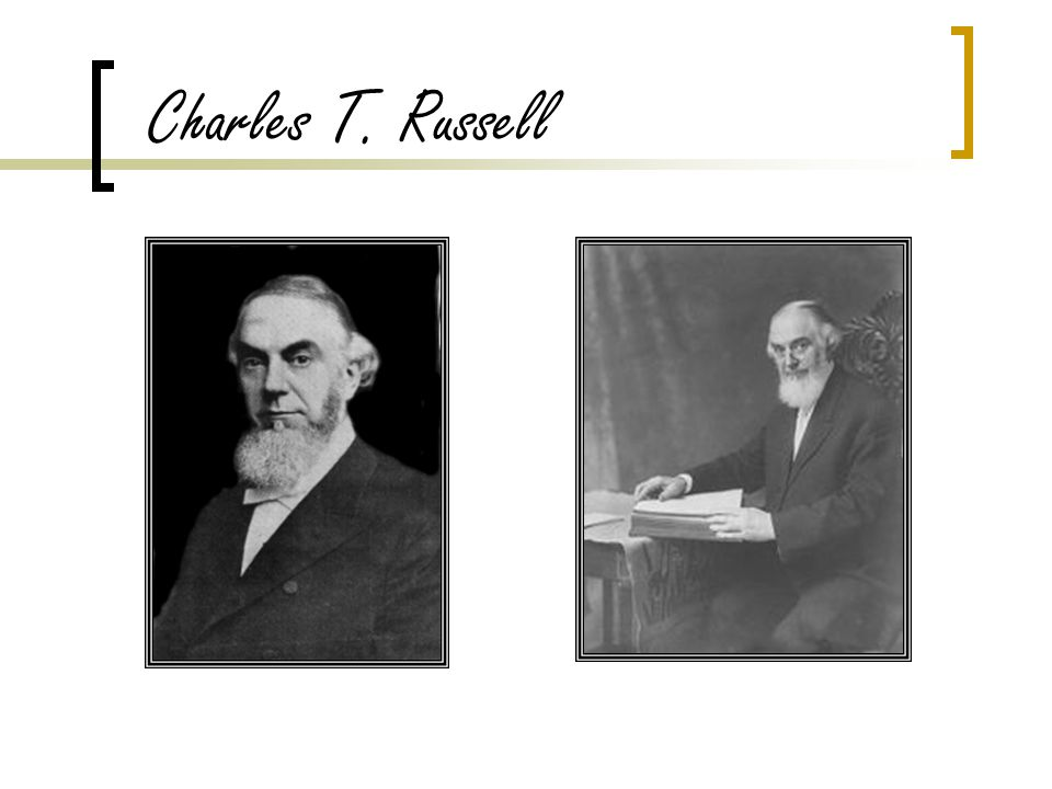 Charles T. Russell