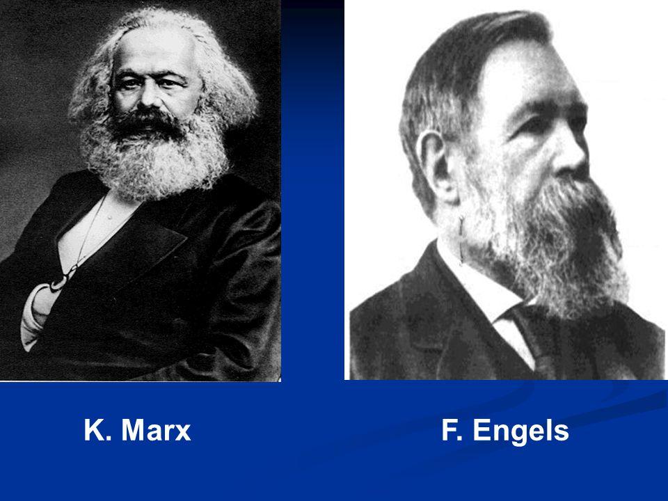 K. Marx F. Engels