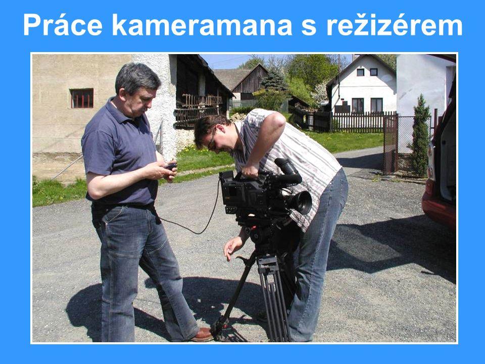 Práce kameramana s režizérem