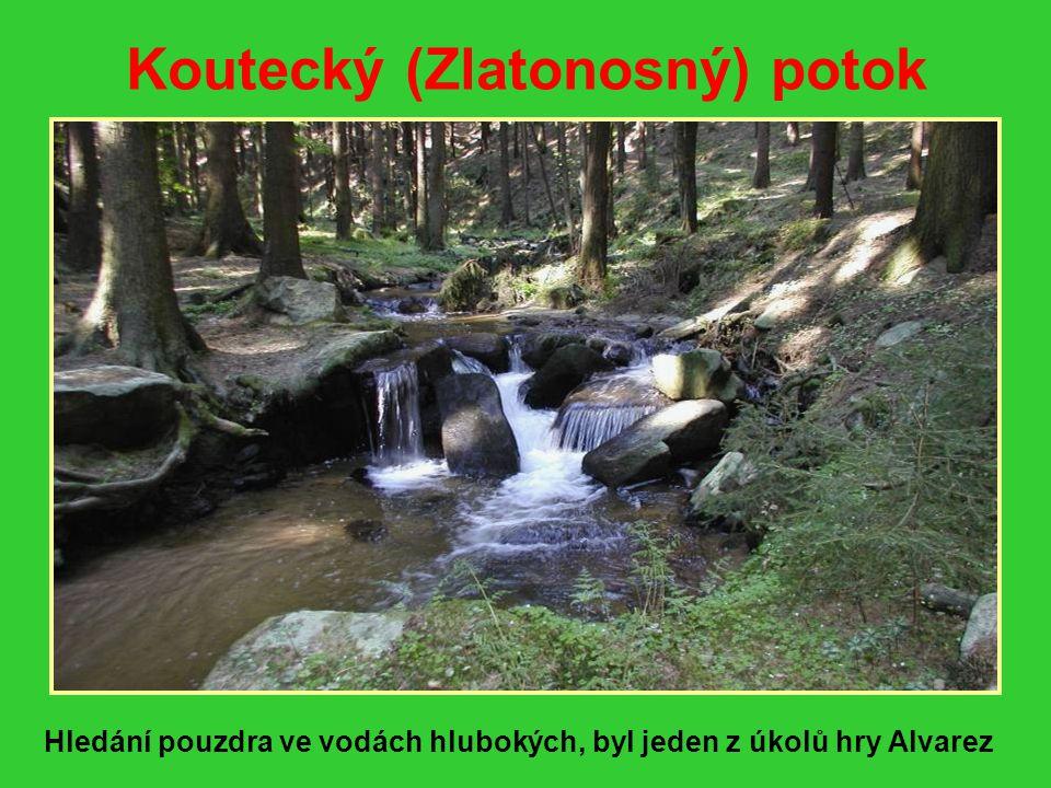 Koutecký (Zlatonosný) potok