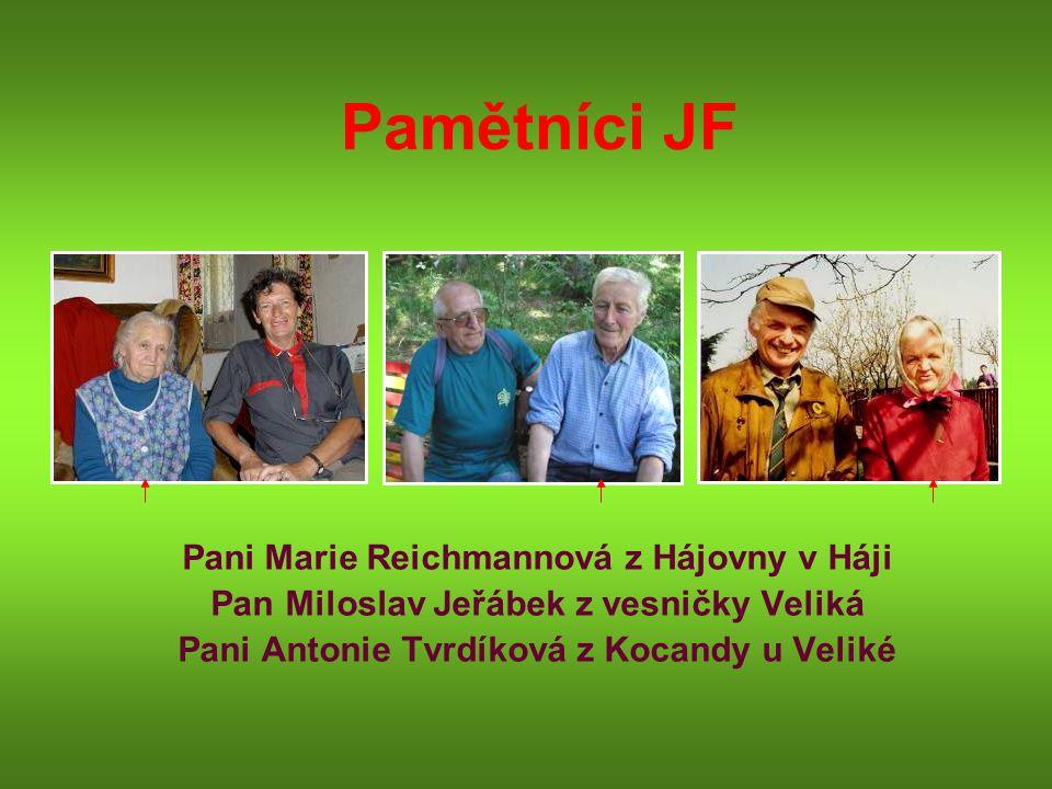 Pan Miloslav Jeřábek z vesničky Veliká