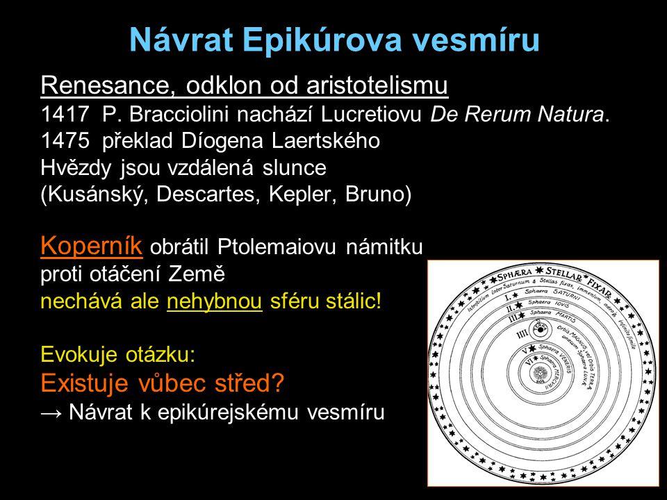Návrat Epikúrova vesmíru