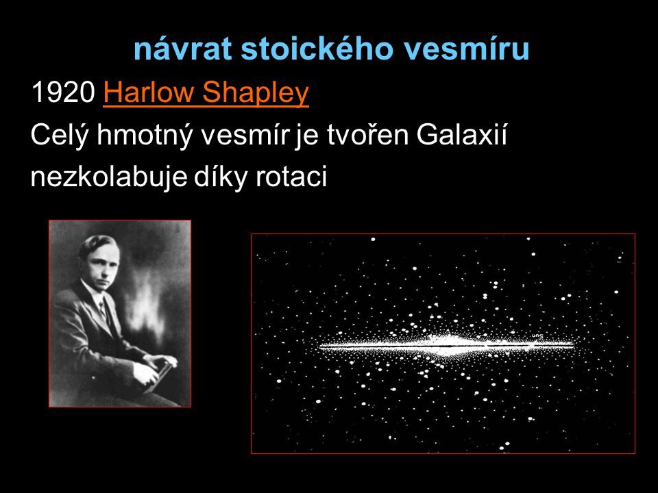 návrat stoického vesmíru