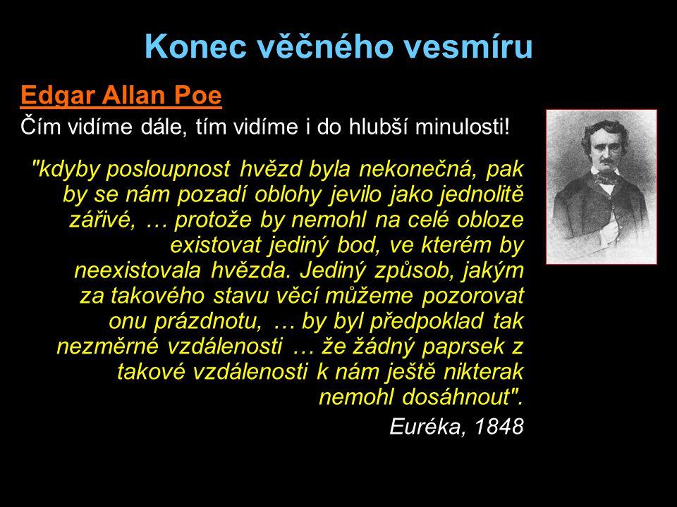 Konec věčného vesmíru Edgar Allan Poe