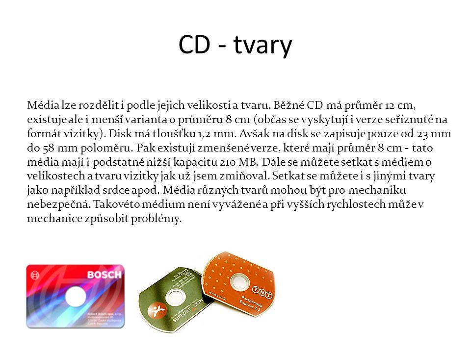 CD - tvary