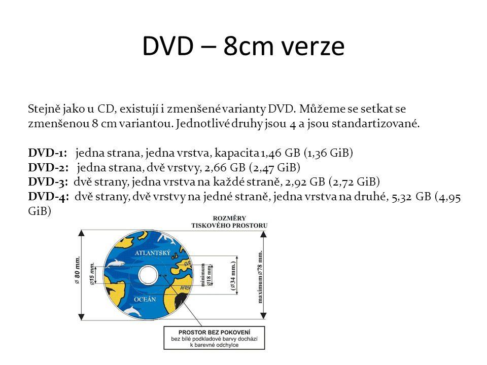 DVD – 8cm verze