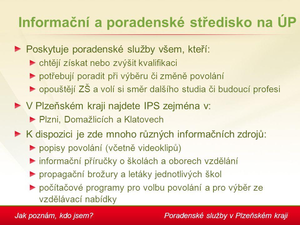 Informační a poradenské středisko na ÚP
