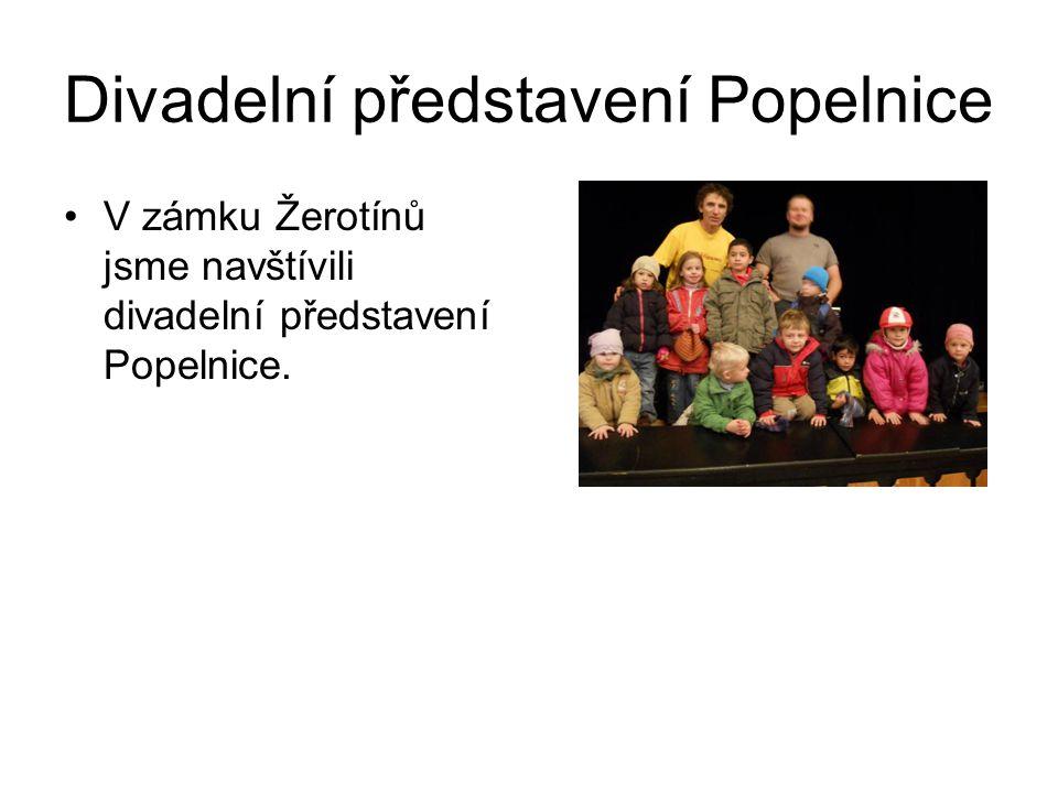 Divadelní představení Popelnice
