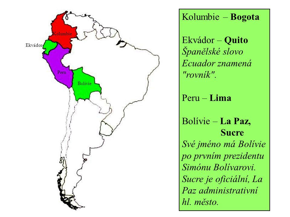 Španělské slovo Ecuador znamená rovník .