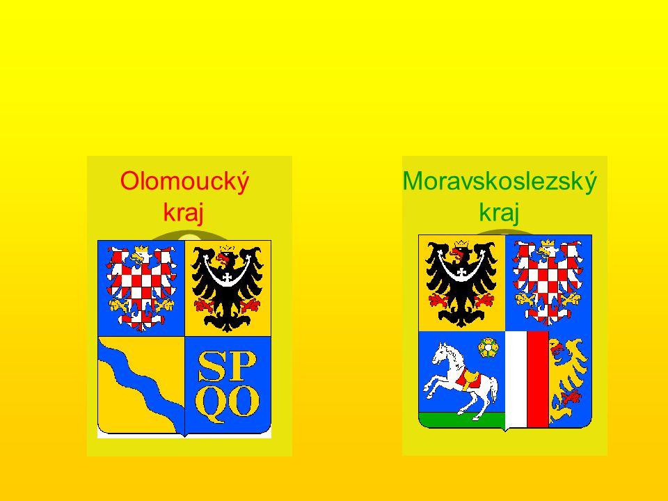 Olomoucký kraj Moravskoslezský kraj