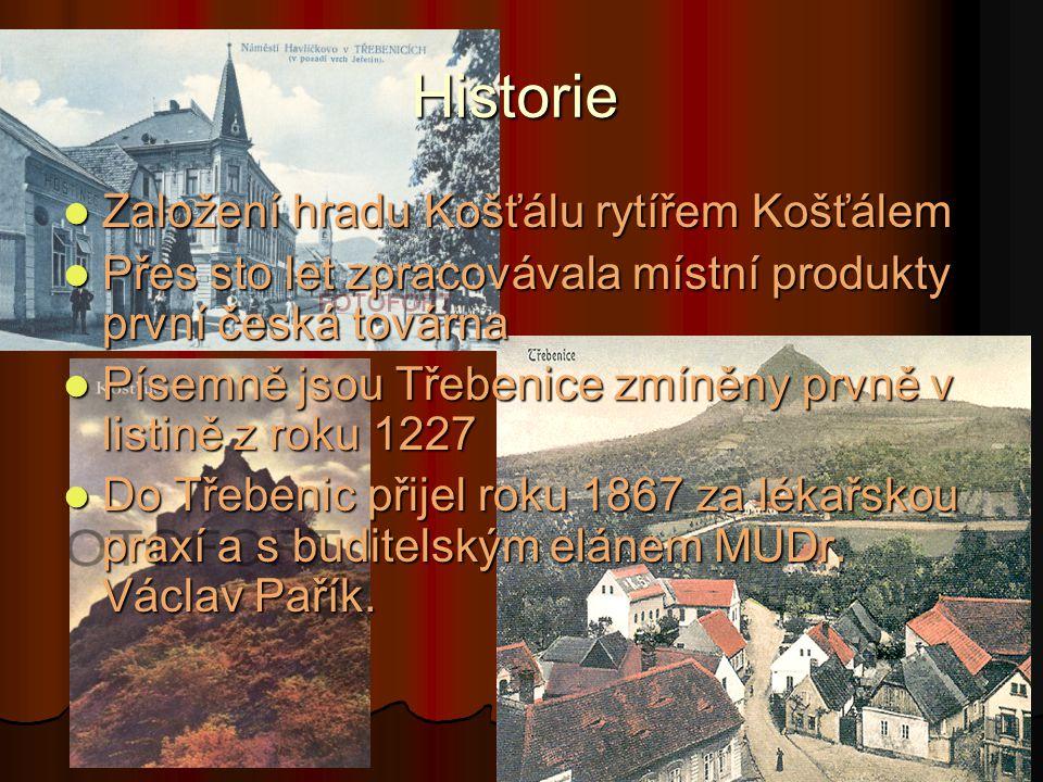 Historie Založení hradu Košťálu rytířem Košťálem