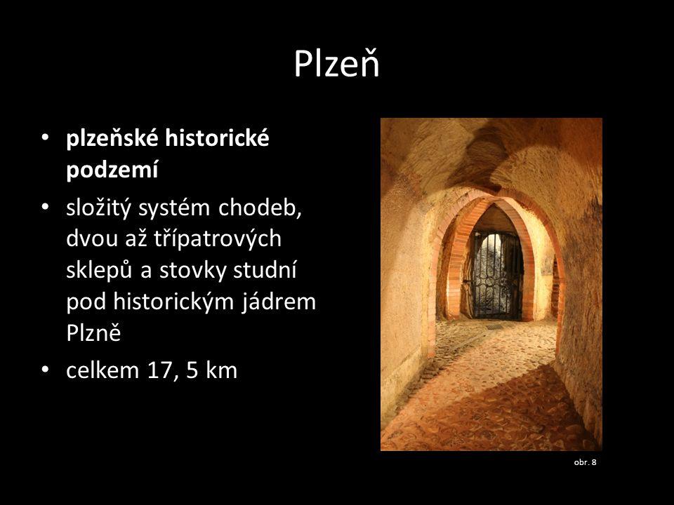 Plzeň plzeňské historické podzemí
