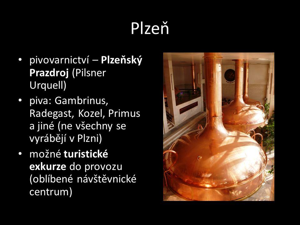 Plzeň pivovarnictví – Plzeňský Prazdroj (Pilsner Urquell)