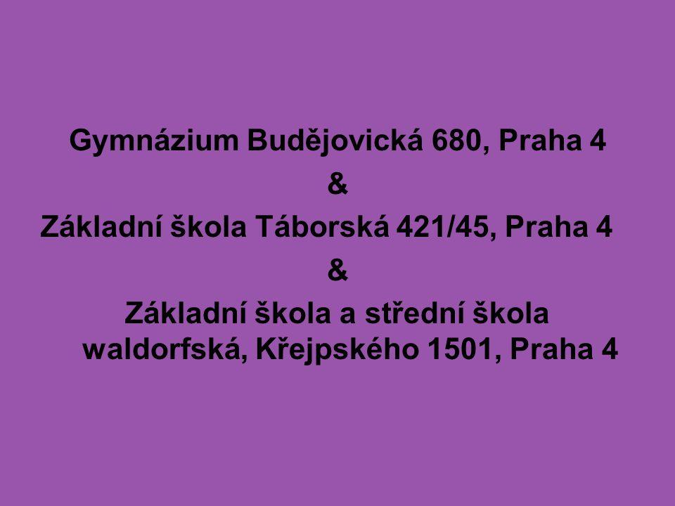 Gymnázium Budějovická 680, Praha 4 &