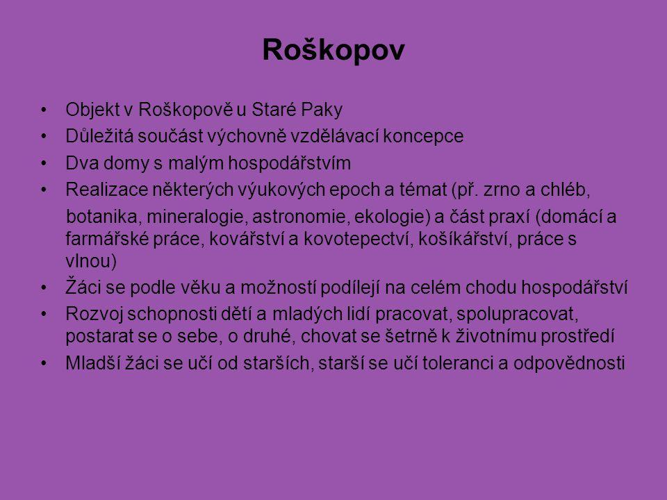 Roškopov Objekt v Roškopově u Staré Paky