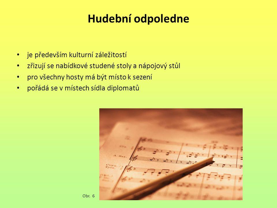Hudební odpoledne je především kulturní záležitostí