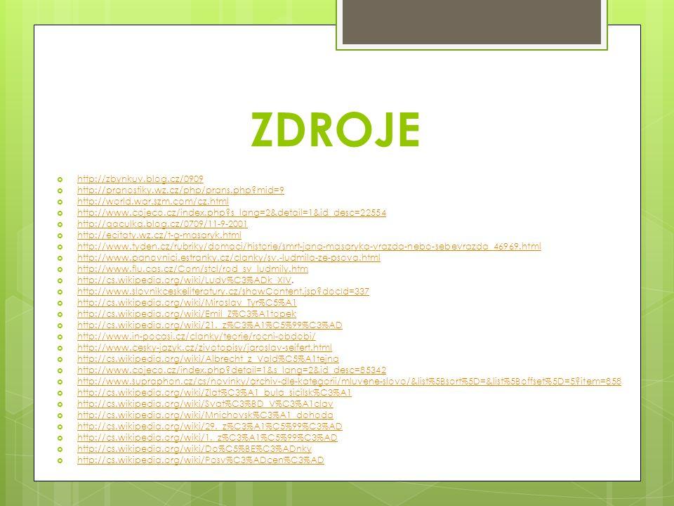 ZDROJE http://zbynkuv.blog.cz/0909
