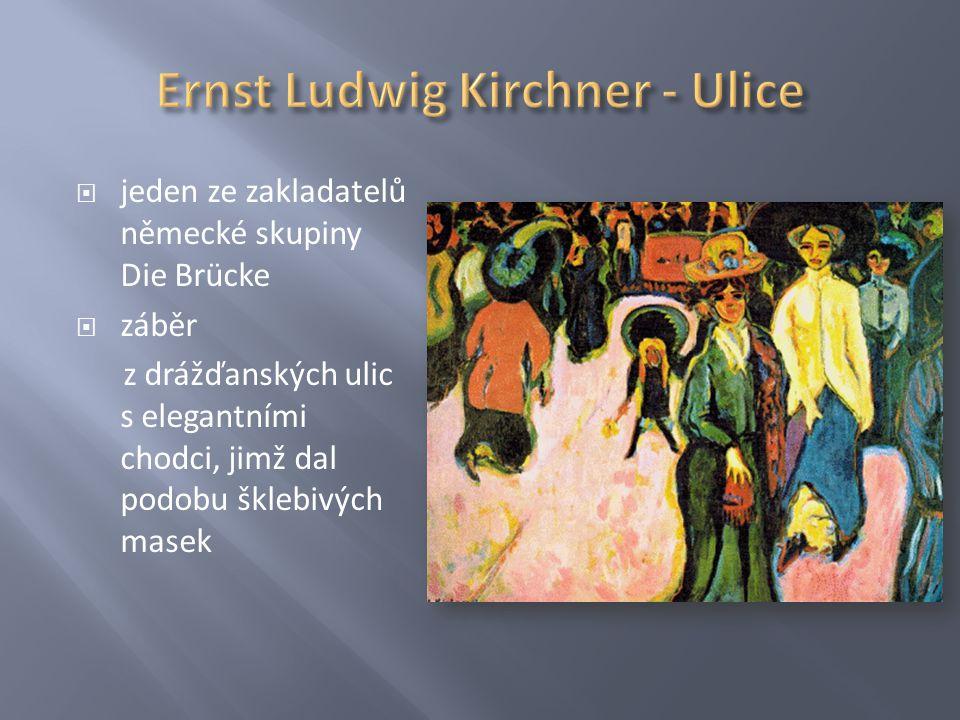 Ernst Ludwig Kirchner - Ulice